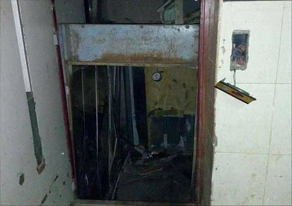 مصعد مستشفي بنها الجامعي