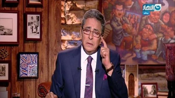 الاعلامي محمود سعد
