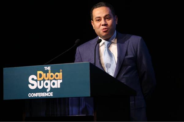 وزير قطاع الأعمال خلال المؤتمر العالمى للسكر