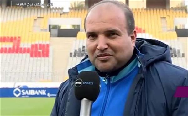 وليد هويدي مدير الكرة في فريق مصر للمقاصة
