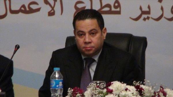 وزير قطاع الإعمال خالد بدوي