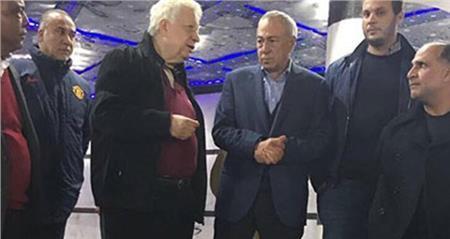 مرتضى منصور وإبراهيم عثمان