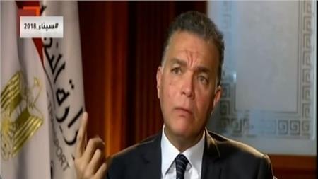 وزير النقل المهندس شريف عرفات