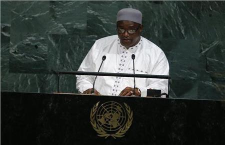 رئيس جامبيا أداما بارو
