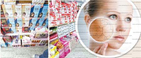 مستحضرات التجميل المغشوشة تسبب السرطان