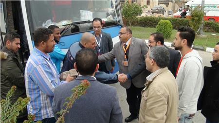 بدء وصول الجامعات المصرية المشاركة في أسبوع متحدي الإعاقة بجامعة المنيا