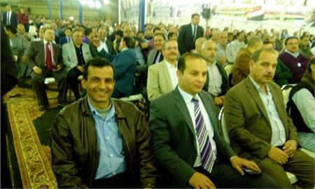 بالصور .. شبرا الخيمة تنتفض في مؤتمر جماهيري حاشد لدعم الرئيس السيسي رئيسا للجمهورية
