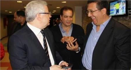 أحمد جلال ومرتضى منصور وزادة
