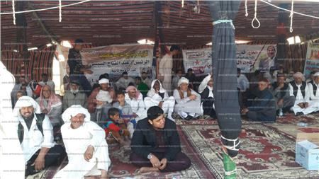 مؤتمر لتأييد السيسى بالضبعة بحضور عمد ومشايخ القبائل البدوية
