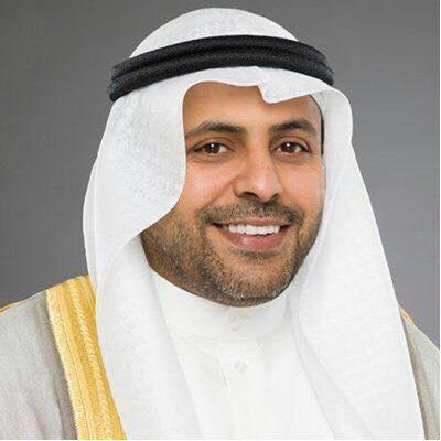 وزير الإعلام الكويتي محمد ناصر الجبرى