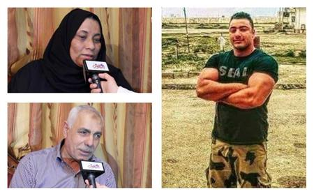أسرة الشهيد خالد المغربي «دبابة»