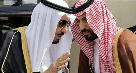 خادم الحرمين الملك سلمان بن عبد العزيز وولي العهد