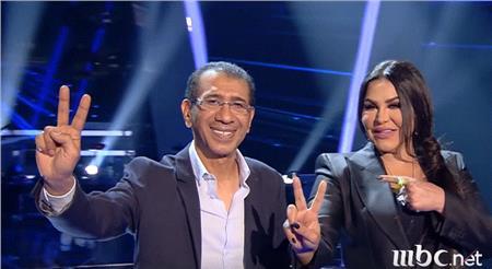 الفنانة أحلام والموسيقار ناصر صالح