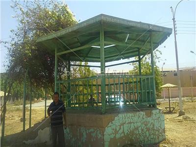 محافظ سوهاج: رفع 12 طن قمامة بحي الكوثر وزراعة حديقة الخالدين