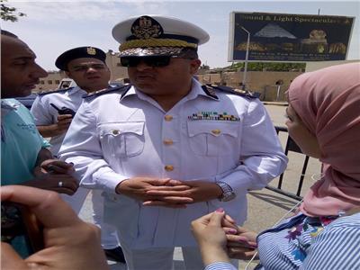 حكمدار الجيزة مع محرري بوابة أخبار اليوم