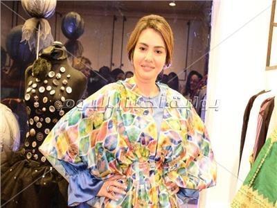 دينا فؤاد خلال الحفل