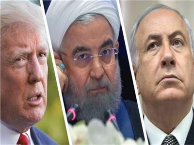 نتنياهو وحسن روحاني ودونالد ترامب