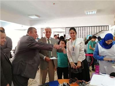 المشروعات المنتجة لطلاب «الحسام الدولية» تبتكر نماذج تعليمية