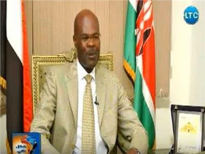 أوتيانو جوف ماكوونيجا السفير الكيني بالقاهرة