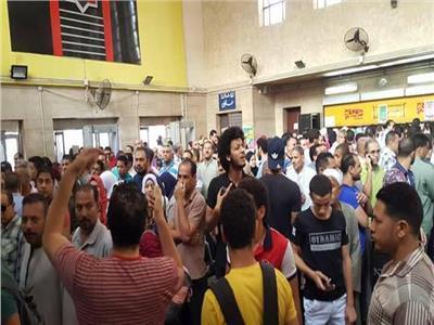 محطة مترو حلوان