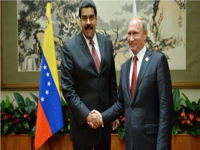 فلاديمير بوتين ونيكولاس مادورو