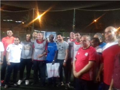 فوز فريق محمد الإتربي في افتتاحية الدورة الرمضانية للبنوك