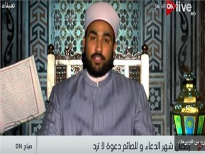 الشيخ إبراهيم الظافري أحد علماء الأزهر