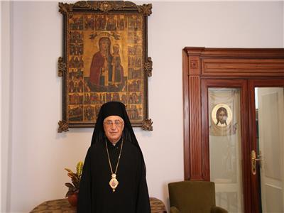 البطريرك يوسف العبسي بطريرك الروم الملكيين الكاثوليك