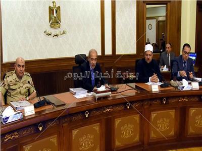 اجتماع الحكومة لتسيير الأعمال برئاسة المهندس شريف إسماعيل