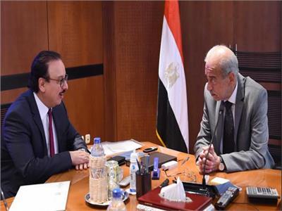 شريف إسماعيل و ياسر القاضي
