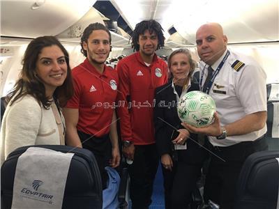 وصول بعثة المنتخب للقاهرة