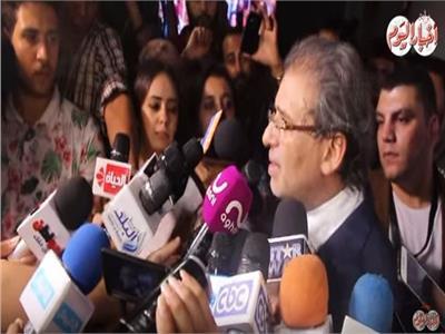 فيديو  خالد يوسف: لجأت لجهة سيادية لتنقذ فيلم «كارما»