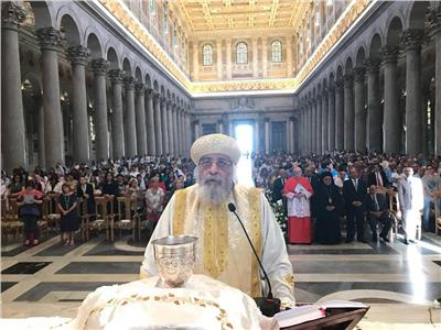 ننشر كلمة البابا تواضروس بكاتدرائية القديس بولس الرسول في روما