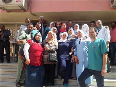 بالصور.. «أطباء مصر» تكرم أبطال مستشفى الحسين الجامعي