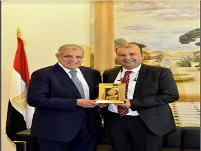 خالد حنفي وإبراهيم محلب