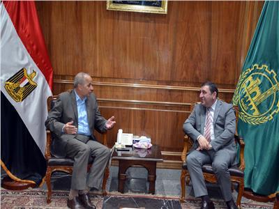 اللواء محمود عشماوى محافظ القليوبية وسفير اذربيجان بالقاهرة