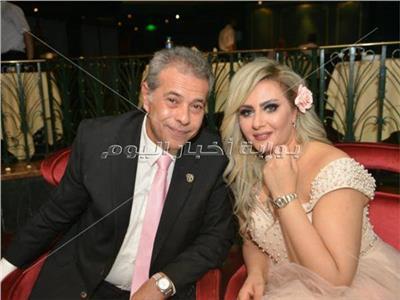 توفيق عكاشة وزوجته حياة الدرديري