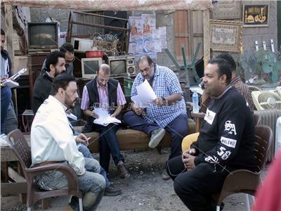 بالصور كواليس تصوير فيلم سوق الجمعة بوابة أخبار اليوم الإلكترونية