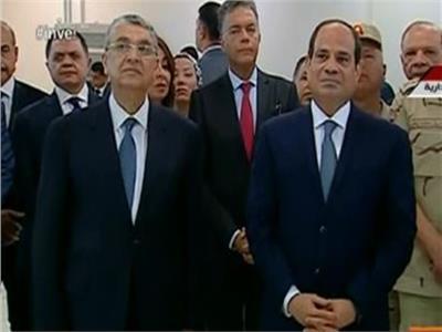الرئيس عبد الفتاح السيسي يفتتح محطة كهرباء العاصمة الإدارية