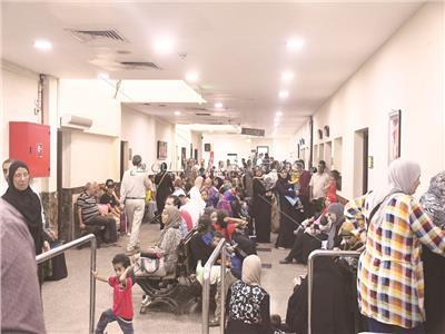 إقبال كثيف من المواطنين على المستشفيات بعد إطلاق المبادرة
