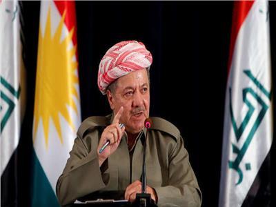 الزعيم الكردي مسعود بارزاني