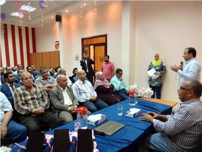 شركة مياه الشرب والصرف الصحى بسوهاج تنظم حفل تكريم لـ 29 متدرباً