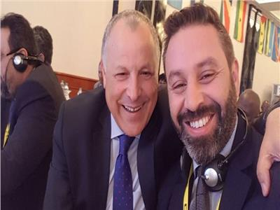 حازم إمام وهاني أبو ريدة
