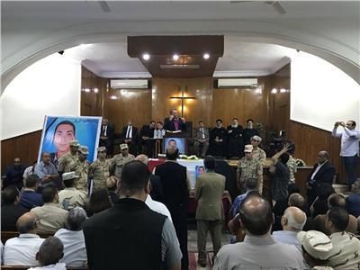 رئيس الطائفة الإنجيلية في جنازة الشهيد فادي مدحت