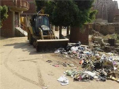رفع 35 ألف طن قمامة ومخلفات في الجيزة