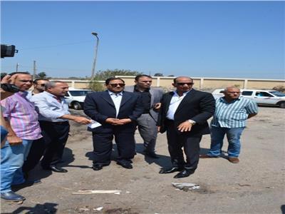 محافظ الغربية يتابع سير أعمال النظافة بشوارع مدينة طنطا