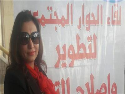 عبير أحمد مؤسس اتحاد أمهات مصر للنهوض للتعليم