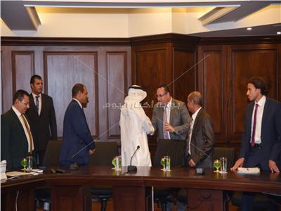 محافظ الإسكندرية يستقبل وفد جامعة الدول العربية