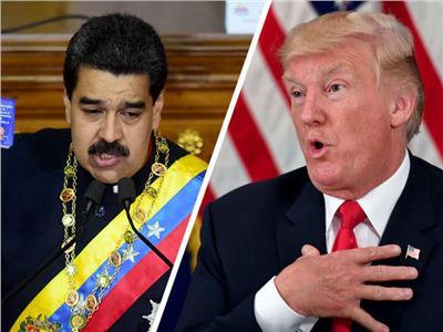 دونالد ترامب ونيكولاس مادورو