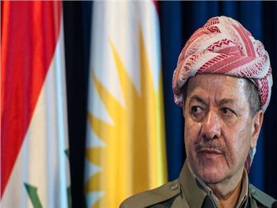 الزعيم الكردى مسعود بارزاني